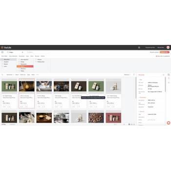 Het zeer overzichtelijke scherm van Swivle toont u in seconden het document dat u zoekt.